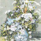 *Flower Cross Stitch Kit   VASE OF FLOWERS By Auguste Renoir