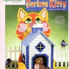 *Plastic Canvas Patterns Curious Kitty Tissue Box Cover