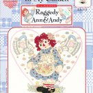 *Raggedy Ann and Andy-  Love Grows in My Garden-  Cross Stitch Pattern