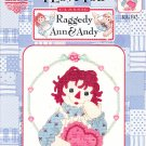 *Raggedy Ann and Andy-  I Love You -  Cross Stitch Pattern