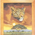 *Cross Stitch Kit  DMC  Lord of the Plains  LEOPARD
