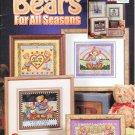 *6 Cross Stitch Patterns Stoney Creek BEARS FOR ALL SEASONS