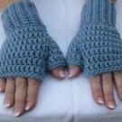 *Hand Crochet  Half Mittens ~ Fingerless Gloves ~ Wrist/Hand Warmer