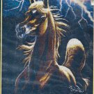 *Horse Cross stitch KIT - STORM ENCOUNTER  Kustom Krafts