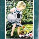 *Heavy Downpour Embellished Cross Stitch KIT Little Girl