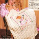 *Quick and Easy Crochet Fan Afghan Knit Bunny Afghan Bear Basket