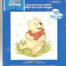 *Disney Pooh Cross Stitch KIT  WATERCOLOR