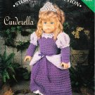 "*Crochet  18"" American Doll Pattern - Storybook Collection ~ Cinderella"