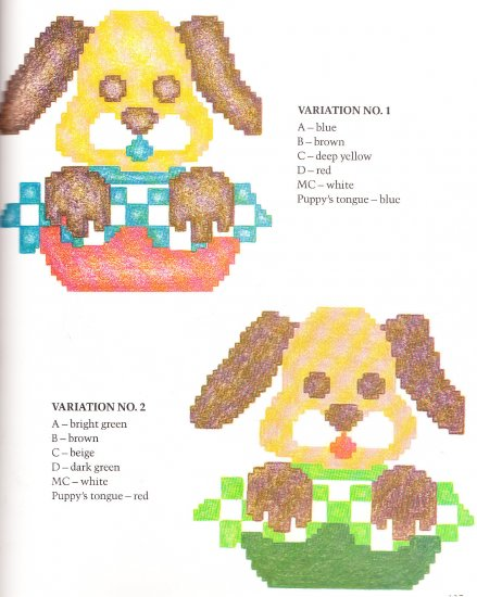 *Crochet/Knit * 29 * Afghan Patterns - 70 Full Color Variations - Roses - Puppy Patterns