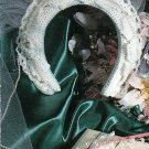 *Crochet Wedding Headdress - Keepsake Frame - Garter - 2 Dolls