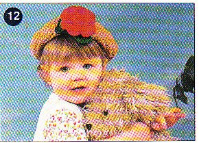 *Crochet Cropped Sweater - Lacy Top - Child's Rose Hat - Afghan Plus