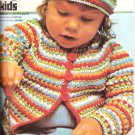 *HB Book Crochet Cardigans Pullovers Hats Scarves Poncho Patterns