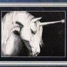 *Unicorn CROSS STITCH Kustom Krafts  GRACE THE DAWN 2004