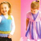 Top-sy Turvey Sweater Patterns Sizes 2 - 10