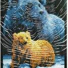 * Brown Bear Cross Stitch Kit  FOREVER WILD  2003
