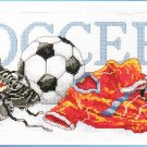 * SOCCER FOOTBALL Cross Stitch Kit  2004