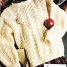 * Crochet Floral Suncatchers - Uncel Sam xStitch - Knit Aran Sweater