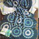 """* Crochet """" More Victorian Afghans * 4 Patterns"""