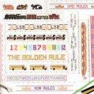 * CROSS STITCH PATTERN  for Rulers- TGIF Cross Stitch Rules