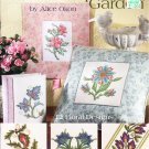 * 12 Flower Cross Stitch Patterns  AN ELOQUENT GARDEN