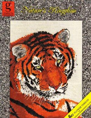 * 10+ CROSS STITCH PATTERNS - NATURE'S KINGDOM Tiger Lion Swan+