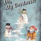* Elaine Thompson - Oh, My Goodness ! Book 1 - Christmas Painting Booklet
