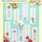 * Bookmarks A bloom Bookmarks ~ 50 State Flowers Cross Stitch