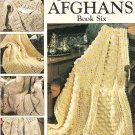* Quick Crochet Afghans Book 6 - Cross Cable Panels - Aran - Pineapple