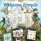* Flower Cross Stitch Patterns MILL HILL WELCOME FRIENDS 2003