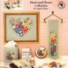 * FLOWER Cross Stitch Pattern HEART AND FLOWER COLLECTION 1994