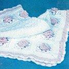 * Crochet World Magazine - Hooded Baby Sweater - Pineapple Doll Dress - Roses Afghan