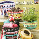 * Crochet Native American Baskets * 7 * Items to Create