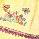 * Beautiful Butterfly - Water Lily Nut Cup - Crochet