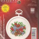 * Christmas Ornament Cross Stitch Kit - Mini Mistletoe 2004