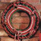 * Crochet WELCOME Friends Christmas Wreath - Beginner Project