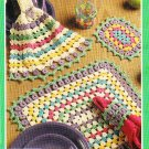 *Annie's Attic Crochet-Tatting Place Mats/Settings for All Seasons