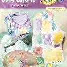 *Crochet  * 6 *  Baby Items on the Double - Layette