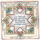 *OUR FAMILY QUILT Cross Stitch KIT URSULA MICHAEL