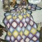 *Crochet Afghan Collector's Series - Diamond Puff