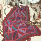 *Crochet Afghan Collector's Series - Crazy Patch - Ideal Scrap Pattern