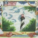 * Lighthouse Cross Stitch KIT  ~ NAUTICAL SAMPLINGS