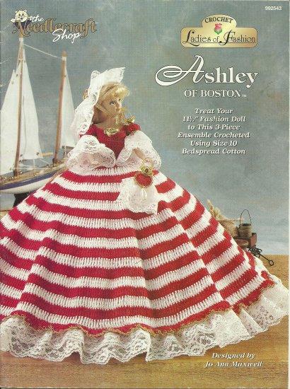 *Fashion Doll Crochet LADIES OF FASHION - Ashley of Boston