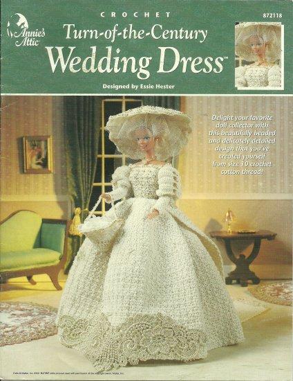 Annie's Attic Crochet Fashion Doll - Turn-of-the-Century Wedding Dress