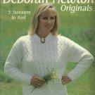 * 5 * Lacy Sweaters to Knit - Deborah Newton Originals -