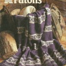 *Patons Winter Knit Collection - Cabin Fever - Snowflake Headband and Mitts PLUS