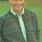 *Fair Isle Men's Jacket Knitting pattern - Lord of the Isles