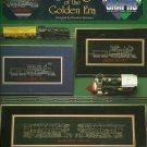 *Great Big Graphs Cross Stitch Patterns TRAINS OF THE GOLDEN ERA