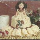 *Annie's Attic Crochet M'Lady's Boudoir Set - Afghan - TTDoll