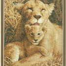 *A MOTHER'S PRIDE Cat Cross Stitch Kit 2008 Gold Collection