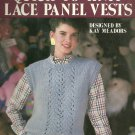 *Knit Lace Panel Vest - Quick to knit - 2 Vests to Create